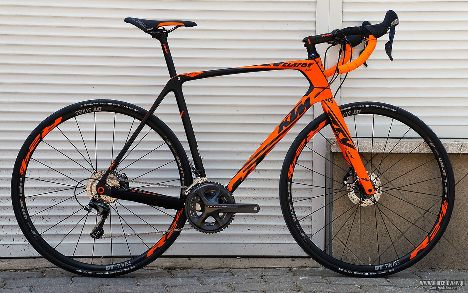 KTM REVELATOR SKY Orange 22s Ultegra CD